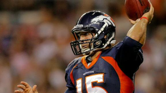 Elway hopes Tebow is long-term solution at QB
