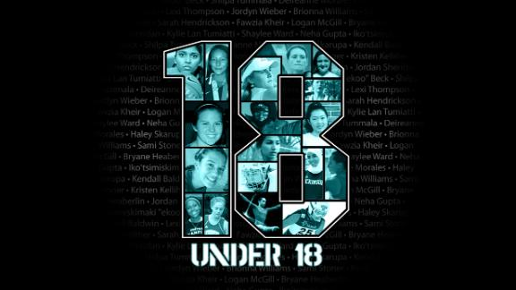 18 Under 18: Meet the girls. ESPNHS is honoring 18 female teen athletes who ...