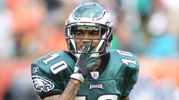 Eagles place franchise tender on wideout Jackson