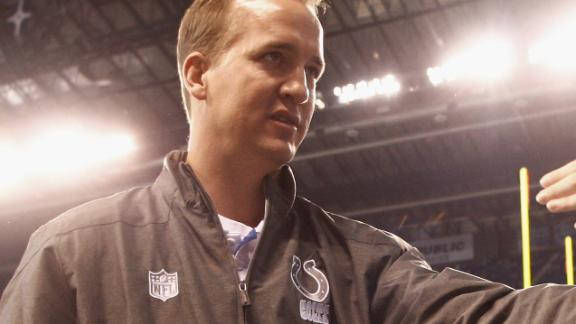Video - Manning Concludes Visit With Titans