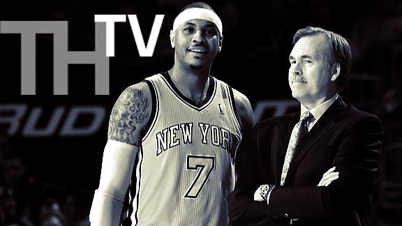 Video - TrueHoop TV: Melo vs D'Antoni