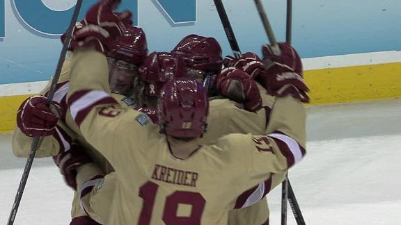 2012 Frozen Four -- Boston College beat Ferris State to win NCAA ...
