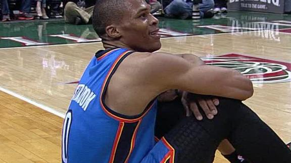 Video - Westbrook Leads Thunder To Win