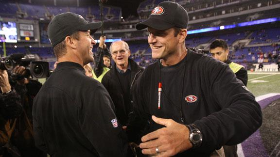On The Clock: Harbaugh brothers