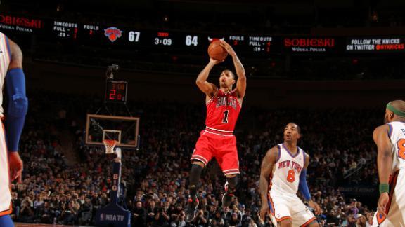 Bulls' Rose (ankle) returns, starts vs. Heat