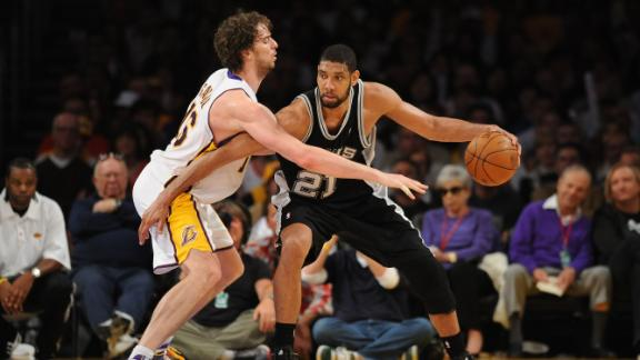 Video - W2W4: Spurs-Lakers