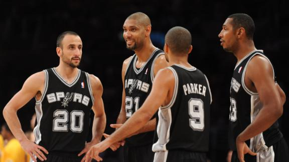 Video - Parker, Duncan Lead Spurs To Big Win Over Lakers