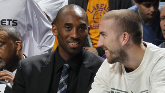 Kobe out vs. Warriors, might return Friday