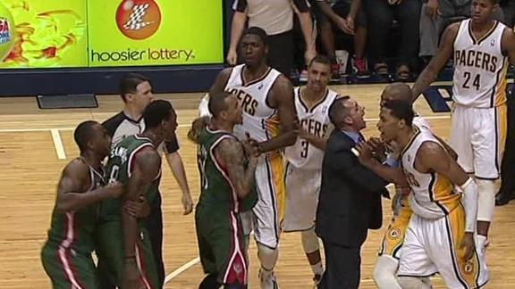 Video - Pacers Win Clash With Bucks