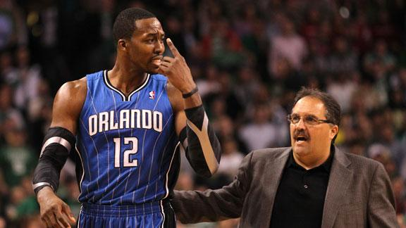 Video - Report: Dwight Howard Won't Play For Van Gundy