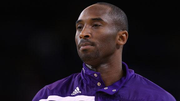 Kobe to play for Lakers after 7-game absence
