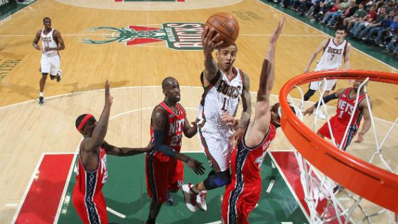 Video - Bucks Top Nets, Keep Playoff Hopes Alive