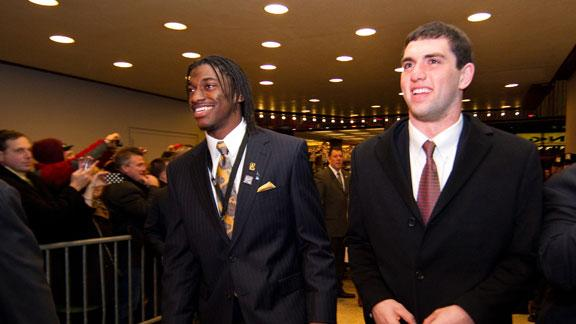 Video - Andrew Luck/RG3 In 5 Years