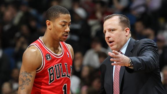 Video - Bulls Carry On Without Rose