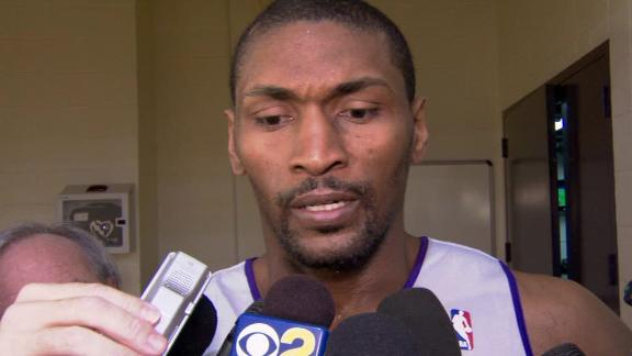 Video - Metta World Peace Discusses Elbow