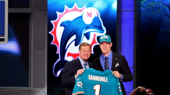 Video - Dolphins Take Tannehill 8th