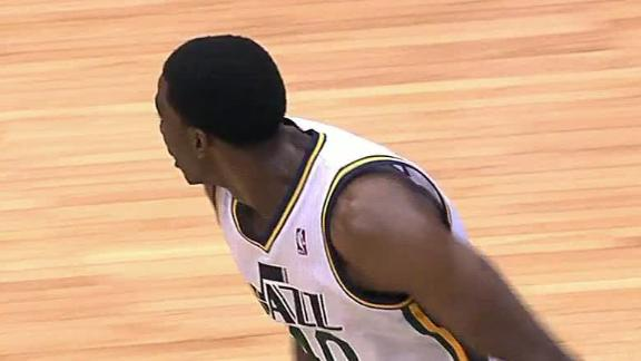 Video - Jazz Hold Off Late Charge By Blazers