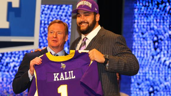 Video - Vikings Select Kalil 4th