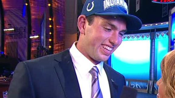 Video - Andrew Luck On Being Drafted No. 1 Overall