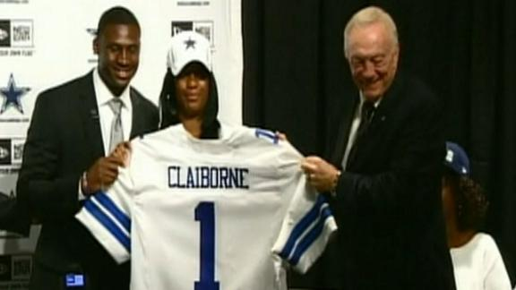 Video - Claiborne Arrives In Dallas