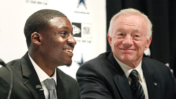 Video - Jerry Jones on Why Cowboys Targeted Claiborne