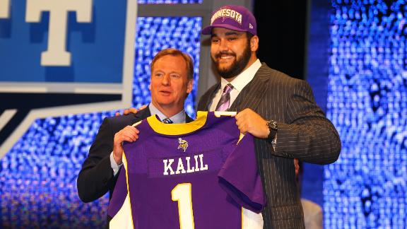 Video - Vikings Select Kalil