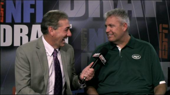 Video - Rex Ryan Defends Jets' Draft