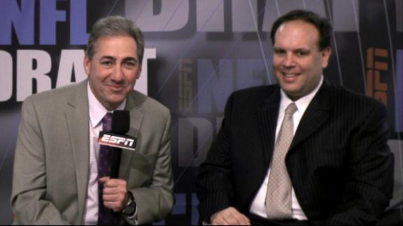 Video - Tannenbaum On Jets Draft
