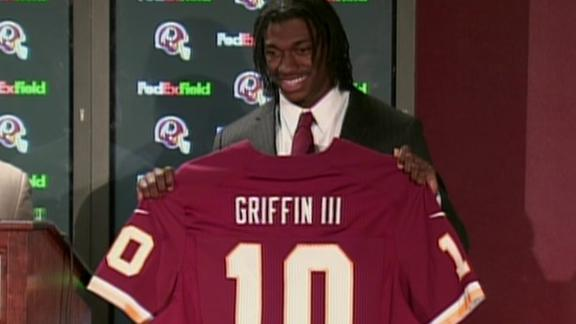 Video - RGIII: 'Feels Good To Be A Part Of The Redskins'