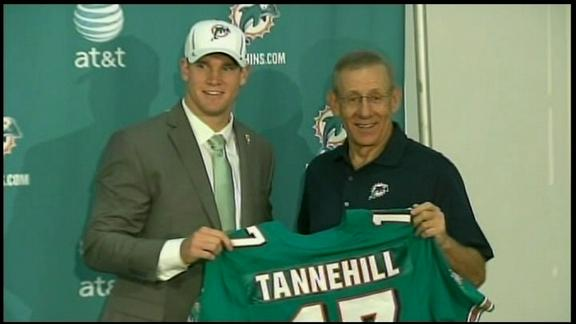 Video - Dolphins Introduce Tannehill