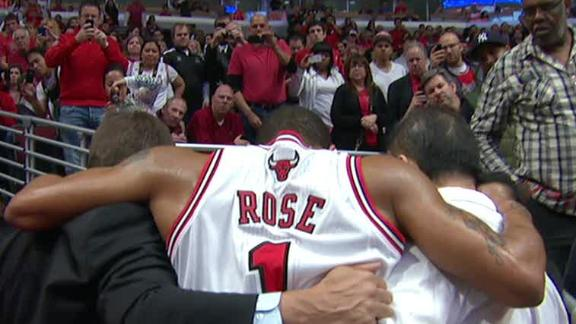 Video - Rose Injury Mars Game 1 Win For Bulls