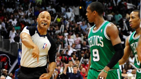 Video - Rondo Ejected In Celtics' Loss To Hawks