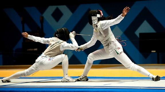 Lee Kiefer To Represent U S In Fencing At London Olympics
