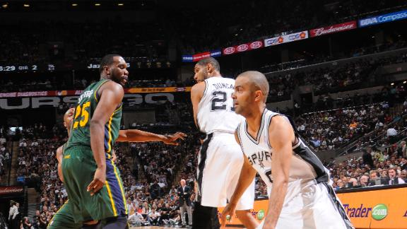Video - Spurs Roll Jazz By 31