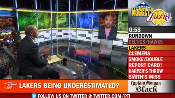 Video - PTI:  Are Lakers Being Underestimated?