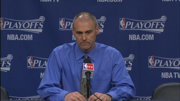 Video - Carlisle On Mavericks Early Exit