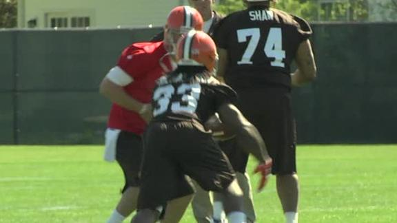 Video - Rough Start For Weeden, Richardson