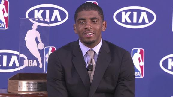 Cavs' Irving runaway winner of rookie of year