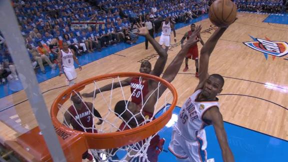 Video - Durant Soars In For The Dunk