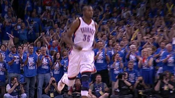 Video - Durant Leads Thunder To Game 1 Win