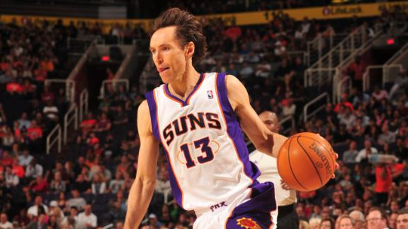 NBA -- Kobe Bryant and Steve Nash, rivals no more