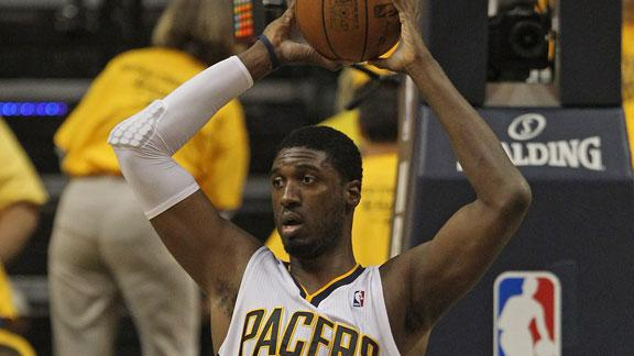 Pacers to match Trail Blazers' offer to Hibbert