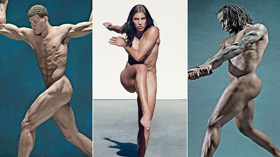 Sexualization of male athletes