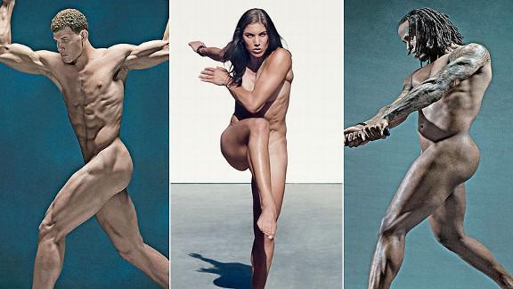 Sexualization of female athletes bodies