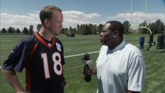 Video - Peyton Reports To Camp