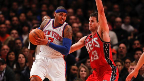 Video - Nets Host Knicks In Home Opener