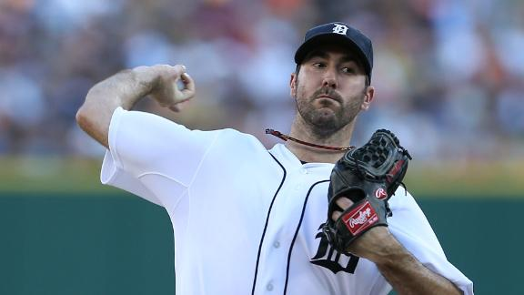 Video - Verlander Fans 14 In Tigers' Victory