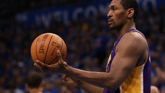 Video - World Peace's Take On Bynum or Howard
