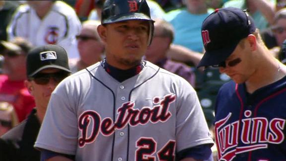 Cabrera sets Tigers mark as Scherzer rolls
