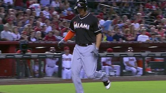 Video - Stanton Homers Twice In Marlins' Win